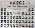 New York Law School Class of 1972 (Day Division) by New York Law School