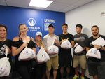 Members of the Class of 2021 spent their final day of First Week delivering meals to our elderly NYC neighbors with Citymeals on Wheels by New York Law School