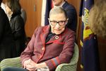 NYLS hosted U.S. Supreme Court Justice Ruth Bader Ginsburg at the 2018 Sidney Shainwald Public Interest Lecture by New York Law School