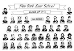 Class of 1971 Day Division by New York Law School
