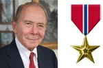 Maurice Greenberg, Class of 1950, Chairman of The Starr Foundation, Former Chairman & CEO of AIG, Philanthropist, Decorated Veteran of WWII and the Korean War by New York Law School