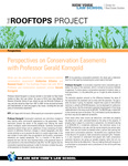 Professor Gerald Korngold on Conservation Easements by James Hagy, Katherine DiSalvo, and Naveed Fazal