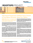 Panorama - International Perspectives: Kathleen Curran, Director of Casa Nuevo Horizonte, Santa Cruz, Bolivia