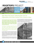 Profiles - Right Where We Started: Celebrating New York City Organizations at the Same Locations Over a Century or More by James Hagy, Alicia Langone, Jordan Moss, Sahar Nikanjam, Bridget Pastorelle, Colin Pearce, Jennessy Angie Rivera, and Ronna Zarrouk