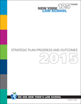 Strategic Plan Progress and Outcomes (2015) by New York Law School