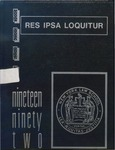 1992 Yearbook by New York Law School